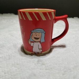 Dayspring Linus & Snoopy Christmas mug